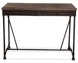 Counter Height Sofa Table by Casselberry Counter Height Table Pipe Leg Distressed Walnut