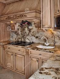 granite countertop kitchen cabinet sliding doors tile over