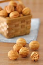 seashell shaped cookies russian walnut shaped cookies oreshki olga s flavor factory