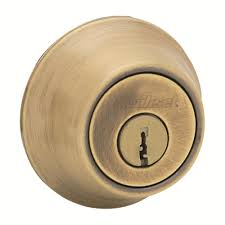 schlage double cylinder bright brass deadbolt b62n 505 605 the