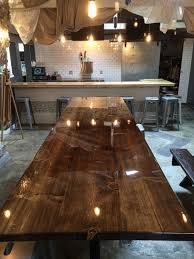 epoxy table top resin bar top epoxy customer testimonials