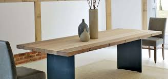 contemporary dining tables extendable bolt extending dining table in oak or walnut lutyens pinterest