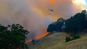 California Wildfires Valley Fire by Wildfires Force Evacuations In Central And Northern California