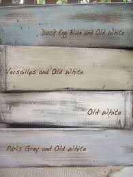 this dry brush technique will add age to new wood chalk paint
