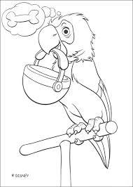 parrot 2 coloring pages hellokids