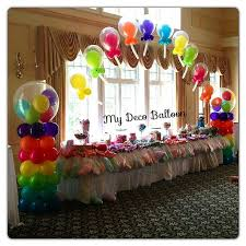 Table Decorating Balloons Ideas 283 Best Balloons Images On Pinterest Balloon Decorations