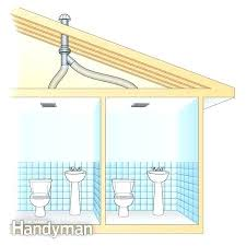 How To Install A Bathroom Exhaust Fan With Light Bathroom Exhaust Fan Installation Bath Fan Vent Bathroom