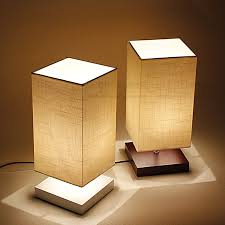 unique bedside table lamps ideas to support bedroom concept