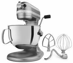 kitchenaid pro 600 mixer in silver