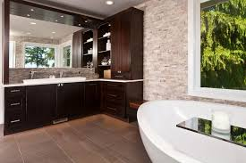 contemporary earth toned master bathroom candace nordquist hgtv