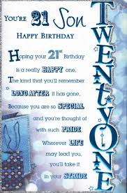 21 birthday card design happy 21st birthday son birthday card happy 21st birthday son