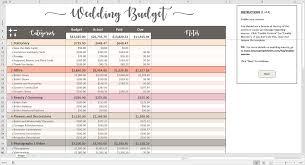wedding budget printable wedding budget excel template savvy spreadsheets