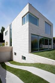 Concrete Home Designs Minimalist Cube House With Geometric Look Minimalist