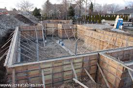 new home foundation install foundation for new home icreatables com