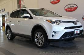 toyota awd 2017 used toyota rav4 limited awd at toyota of bedford serving