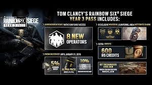 rainbow six siege year 3 season pass now available