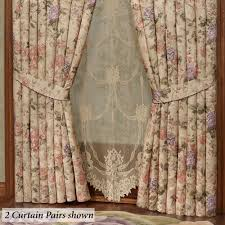 forever floral swag valance window treatment
