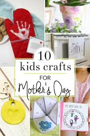 homemade mother u0027s day gifts from kids the crazy craft lady