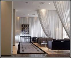 Hang Curtains From Ceiling Designs How To Hang Curtain From Ceiling Stylish Hanging Curtain Rods From
