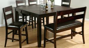 home design cool dining table bench with backrest best wooden