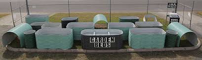 Corrugated Metal Garden Beds Raised Corrugated Iron Garden Beds Manufactured By Andy U0027s