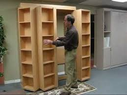 Moving Bookshelves Bookcase Bed Video No Music Youtube
