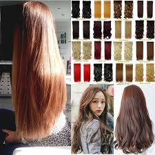 synthetic hair extensions aliexpress buy 26 brown extensions