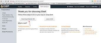 how to setup and configure chef workstation