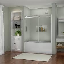 Bathtub Shower Door Sunnyshower B038 6062cc New Semi Frameless Sliding Bathtub Shower