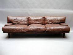 Soft Leather Sofa Borgsmidt Light Brown Pillows Atelier Doré Interiors