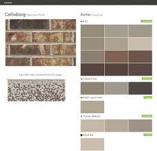 click the gray visit button to see the matching paint names