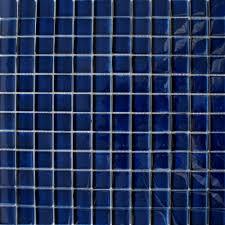 sapphire blue tiles glass square mosaics tiles 325x325x8mm tiles