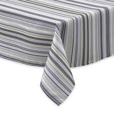 Black And White Table Cloth Buy Oval Tablecloth From Bed Bath U0026 Beyond