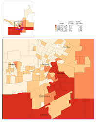 Winnipeg Map 1 5 Distribution Of The Francophone Population Born In Canada By