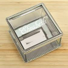 personalized jewelry box personalized jewelry boxes valet trays gifts for you now