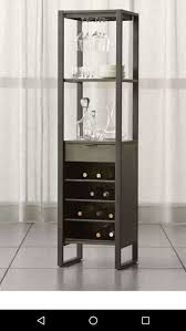 crate and barrel cab wine tower for sale in los altos ca 5miles