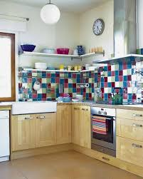 colorful kitchen backsplash one of the easiest and cutest ways is a colorful kitchen