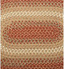 Round Woven Rugs Braided Polypro Roanoke Rug 8x11 Rugs Plow U0026 Hearth