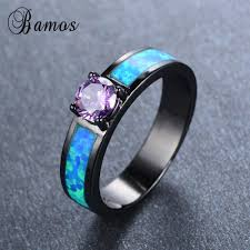 Opal Wedding Rings by Online Get Cheap Opal Engagement Aliexpress Com Alibaba Group
