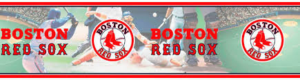 Boston Red Sox Home Decor Mlb Boston Red Sox Wall Border Sale 14 95 W Free Shipping 5815397