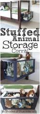 Easy Diy Bedroom Organization Ideas Best 25 Organizing Stuffed Animals Ideas On Pinterest Stuffed