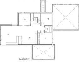 Modern Hill House Designs Architecture Modern Wood Hill House Design Basement Plan