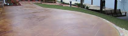 Brushed Concrete Patio Stained Concrete Patio Ideas Keysindy Com