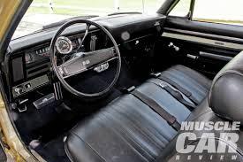 1969 Chevelle Interior 1969 Chevrolet Nova Ss396 Light Heavyweight Muscle Car Review