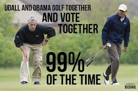 Golf Meme - colorado peak politics udall obama golf meme