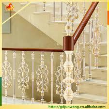 luxury aluminum stair balustrade parts aluminum stair railing