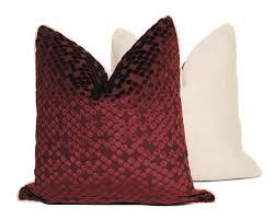burgundy throw pillows ballkleiderat decoration