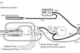 emg wiring diagram 81 85 1 volume 1 tone wiring diagram