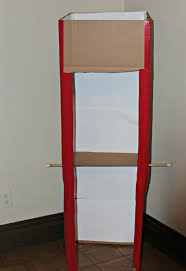 how to make a photo booth how to make a pretend voting booth just in time for election day