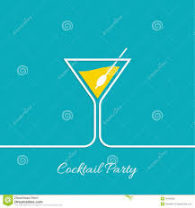 cocktail party stock vector image 49185062